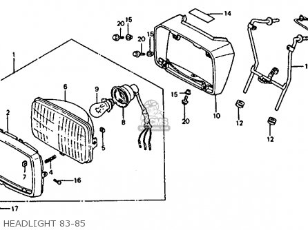 Honda Atc 70 Wiring Honda 350X Wiring Diagram ~ Odicis