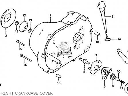 Honda Atc110 1985 (f) Usa parts list partsmanual partsfiche