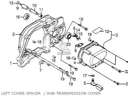Honda Atc125m 1984 Usa parts list partsmanual partsfiche