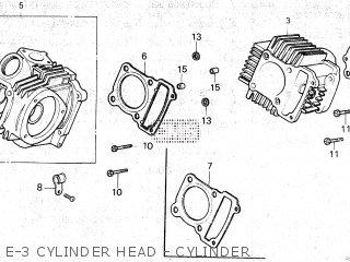 Honda ATC125M 1985 (F) CANADA parts lists and schematics
