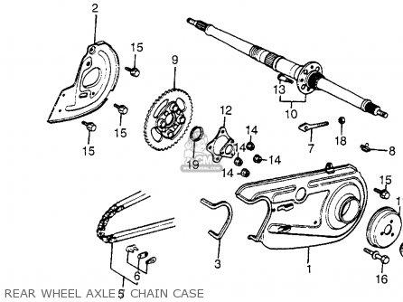 Honda Atc125m 1985 (f) Usa parts list partsmanual partsfiche
