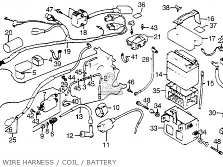 Honda Atc125m 1985 Usa parts list partsmanual partsfiche