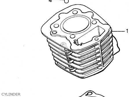 Honda Atc125m 1986 (g) Usa parts list partsmanual partsfiche