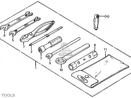 Honda ATC185S 1982 (C) USA parts lists and schematics