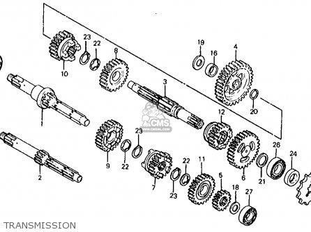 Honda Atc200 1982 Usa parts list partsmanual partsfiche