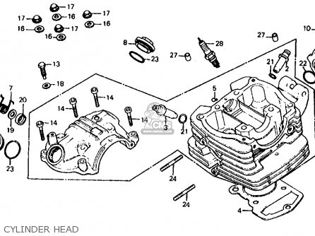 Honda 200x Engine Diagram ATC Engine Diagram Wiring