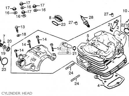 Honda Atc 110 Engine, Honda, Free Engine Image For User