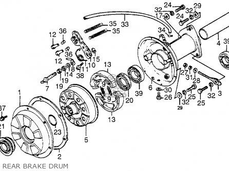 Honda Atc200e 1983 Big Red Usa parts list partsmanual