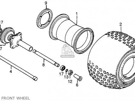 1986 Honda Trx250 Wiring Diagram. 1986. Wiring Diagram