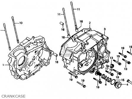Honda Atc200es Big Red 1984 (e) Usa parts list partsmanual