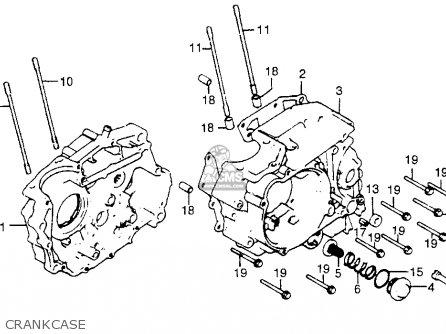 Honda Atc200m 1984 (e) Usa parts list partsmanual partsfiche