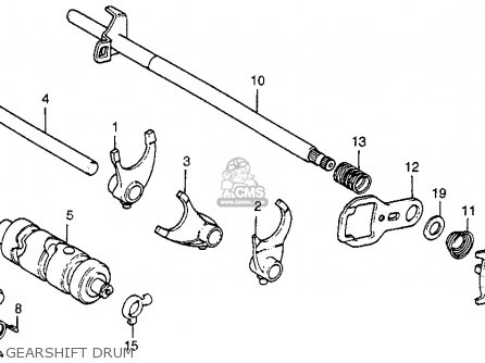 Honda ATC200M 1985 (F) USA parts lists and schematics