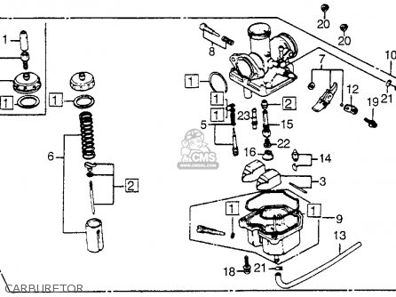 Wiring Diagram For 1984 Honda 200es Honda 185S Wiring
