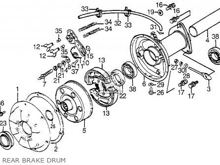 Honda ATC200S 1984 (E) USA parts lists and schematics