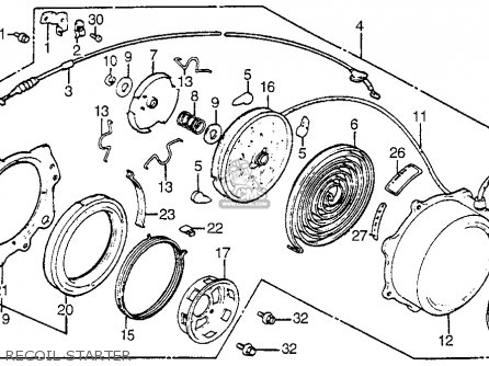 Honda Atc200s 1984 (e) Usa parts list partsmanual partsfiche