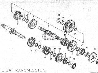 Honda ATC200S 1985 (F) parts lists and schematics