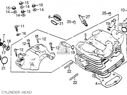 Honda Atc200s 1985 (f) Usa parts list partsmanual partsfiche