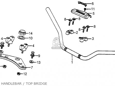 Honda Atc200s 1985 (f) Usa parts list partsmanual partsfiche