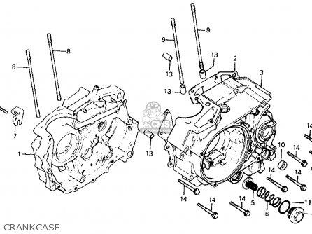 Honda Atc200x 1983 (d) Usa parts list partsmanual partsfiche