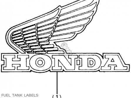 Honda Atc200x 1984 (e) Usa parts list partsmanual partsfiche