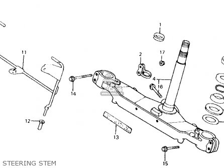 Honda Atc200x 1984 Usa parts list partsmanual partsfiche