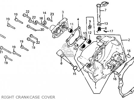 Honda Atc200x 1985 (f) Usa parts list partsmanual partsfiche