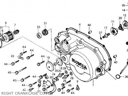 Honda Atc250es 1985 Big Red Usa parts list partsmanual