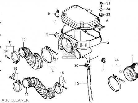 Honda ATC250ES 1987 (H) USA parts lists and schematics