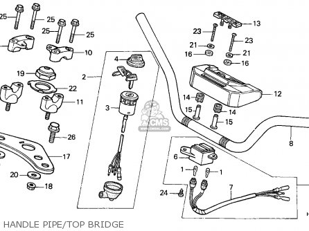 Honda Atc250es Big Red 1985 Australia parts list