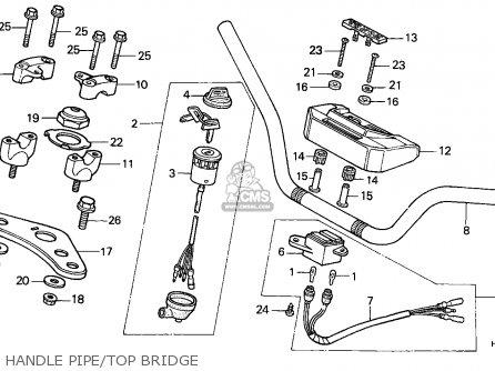 Honda Atc250es Big Red 1987 England parts list partsmanual