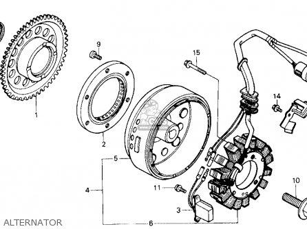 Honda ATC250ES BIG RED1985 (F) USA parts lists and schematics