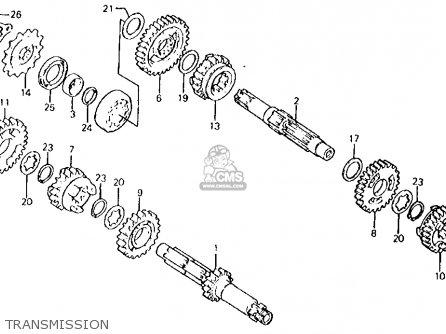 Honda Atc250r 1982 Usa parts list partsmanual partsfiche