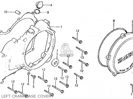 Honda ATC250R 1983 (D) USA parts lists and schematics