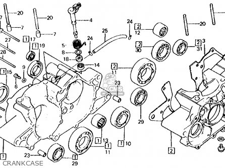 Honda ATC250R 1984 (E) USA parts lists and schematics