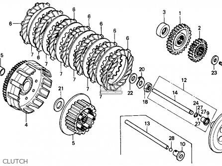 Honda Atc250r 1985 (f) Usa parts list partsmanual partsfiche
