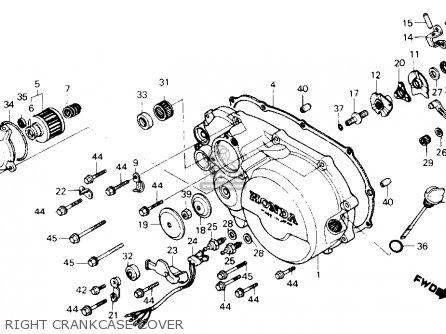 Honda Atc250sx 1986 (g) Usa parts list partsmanual partsfiche