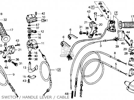 Honda Atc250sx 1986 (g) Usa parts list partsmanual partsfiche