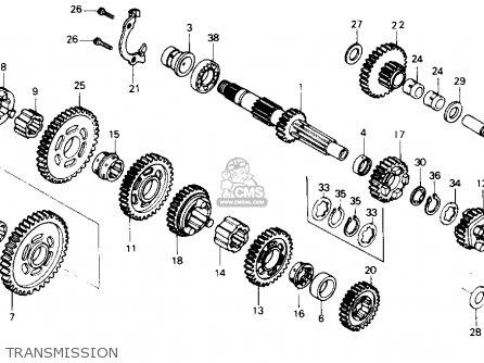 Honda ATC250SX 1986 (G) USA parts lists and schematics