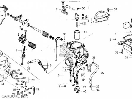 Honda Atc250sx 1986 Usa parts list partsmanual partsfiche