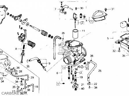 Honda Atc250sx 1987 (h) Usa parts list partsmanual partsfiche