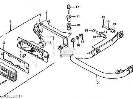 Honda ATC350X 1985 (F) USA parts lists and schematics