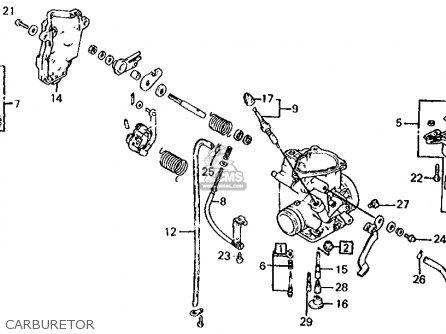 Honda Atc350x 1985 Usa parts list partsmanual partsfiche