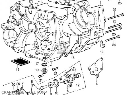 Honda Atc70 1973 Usa parts list partsmanual partsfiche