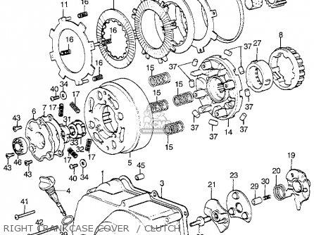 Honda ATC70 1973 USA parts lists and schematics