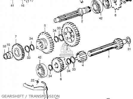 Honda Atc70 1974 Atc70k1 Usa parts list partsmanual partsfiche