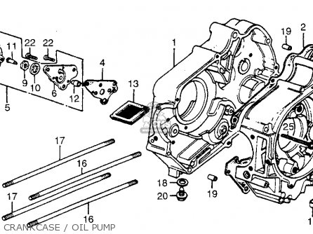 Honda Atc70 1979 (z) Usa parts list partsmanual partsfiche