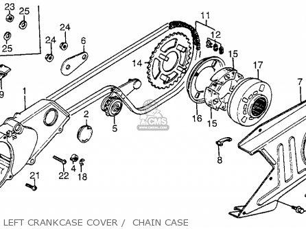 Honda ATC70 1980 (A) USA parts lists and schematics