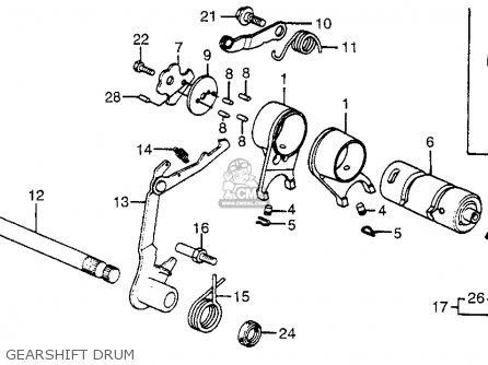 Honda ATC70 1981 (B) USA parts lists and schematics