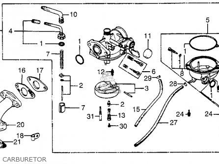Honda Atc70 1983 Usa parts list partsmanual partsfiche