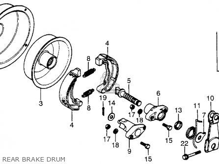 Honda ATC70 1985 (F) USA parts lists and schematics